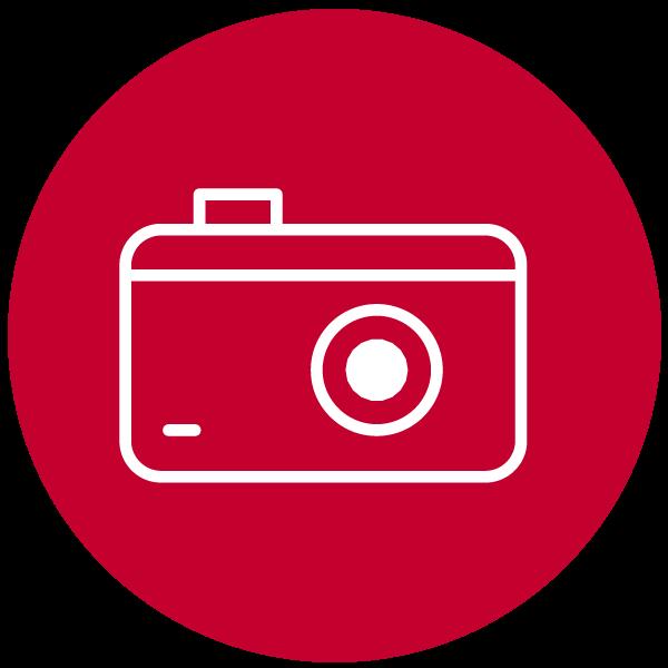 "Piktogramm zum Thema ""Kamera"""