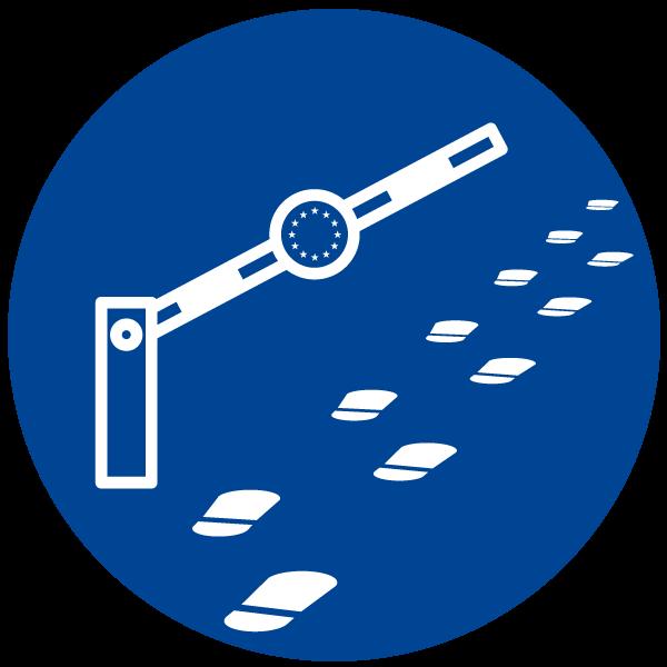 """Piktogramm zum Thema """"Entry requirements"""""""