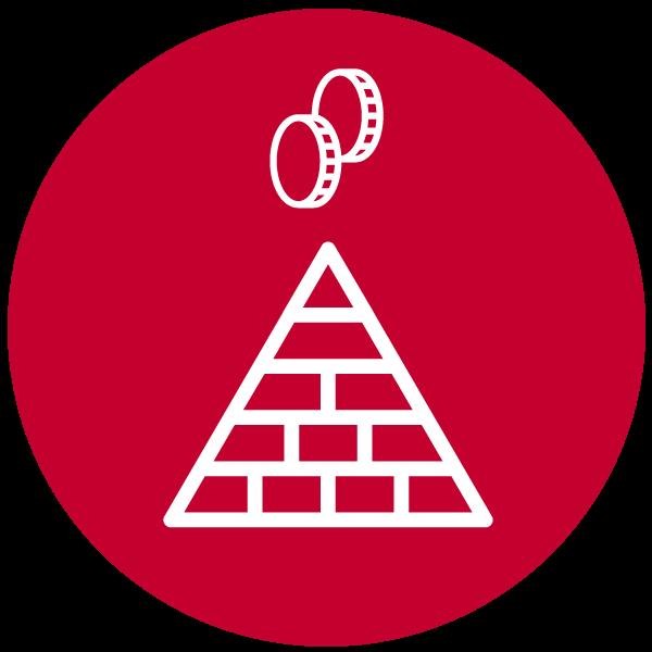 """Piktogramm zum Thema """"Pyramidenspiel"""""""