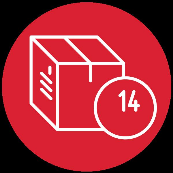 """Piktogramm zum Thema """"14 Tage Widerrufsrechtt"""""""