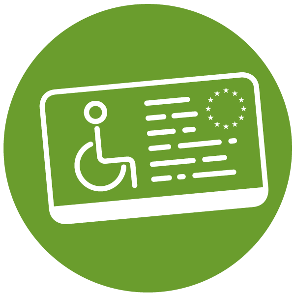 """Pictogram about """"Limited mobility"""""""