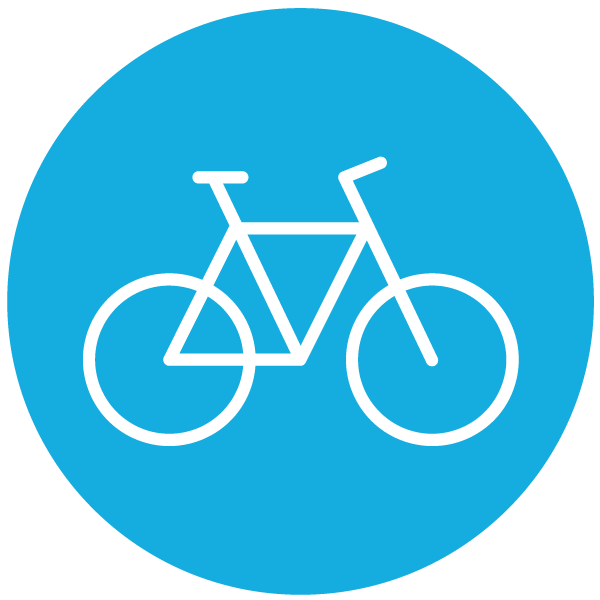 "Piktogramm zum Thema ""Fahrrad"""