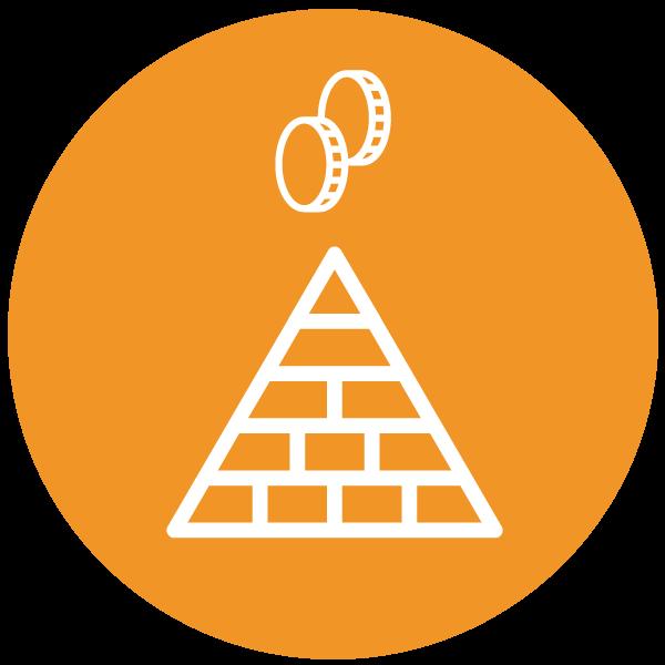 """Piktogramm über """"Pyramidenspiel"""""""