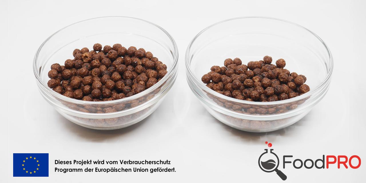 Hersteller lieben kleine Portionen (links im Bild). So können sie ihre Produkte besonders energiearm oder zuckerarm darstellen.