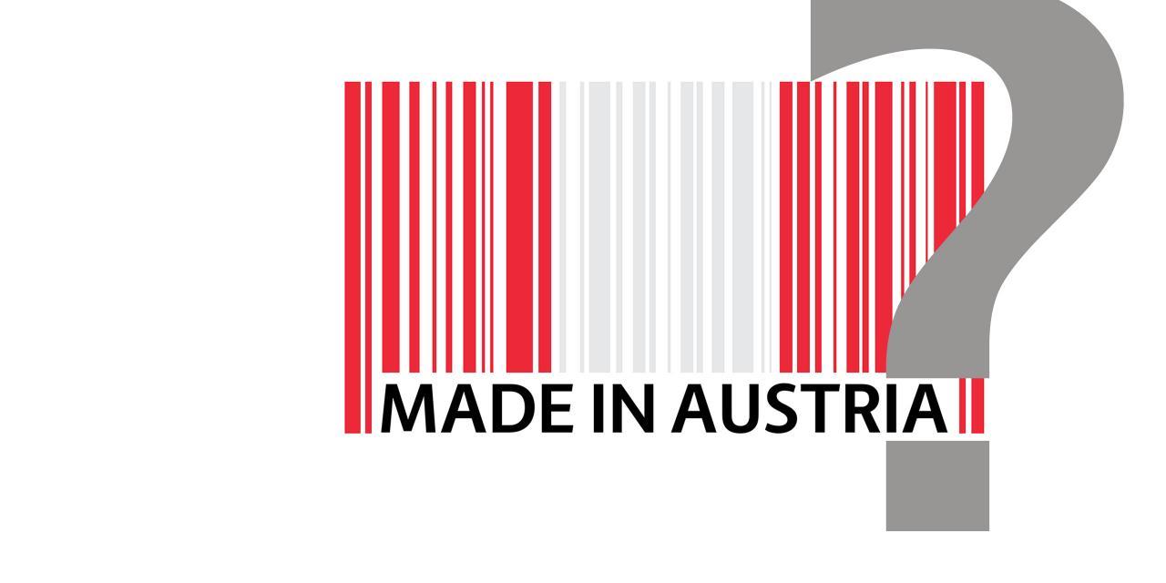 Rot-Weiß-Rot auf der Verpackung sagt nichts über den Ursprung eines Produktes aus