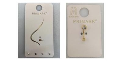 Fotos von Primark-Piercings