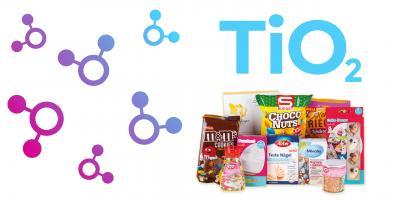 Warnung vor Titandioxid (E 171) in Lebensmitteln