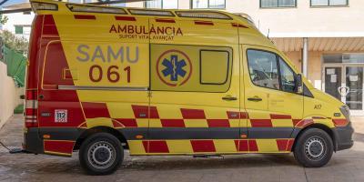Spanischer Rettungswagen