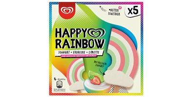 Foto von Eiscreme Eskimo Happy Rainbow