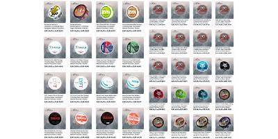 Fotos von tabakfreien und -haltigen Chewing Bags von lifeofsnus
