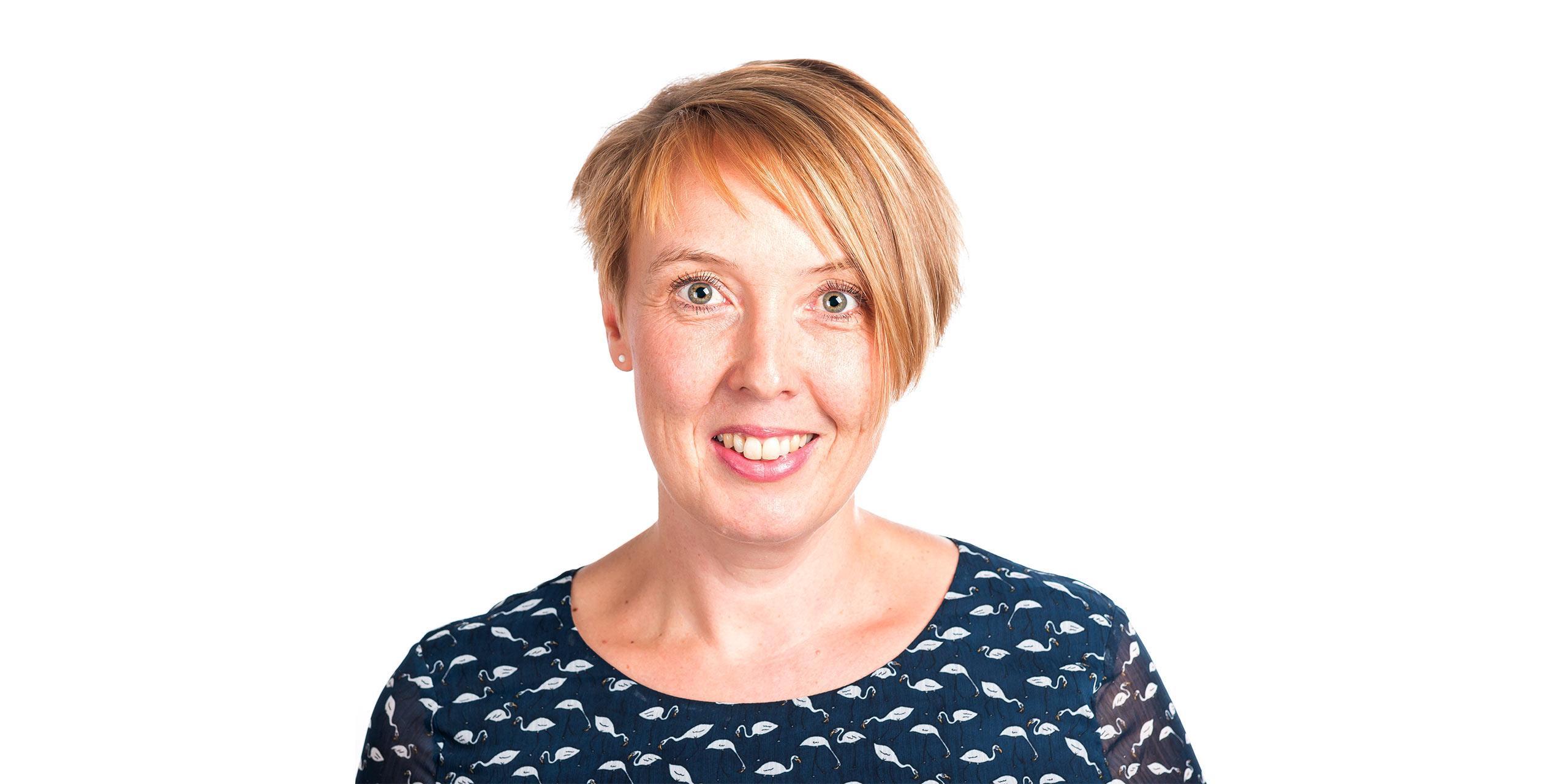 Mag. Sabine Burghart - Leiterin des Bereiches Kommunikation