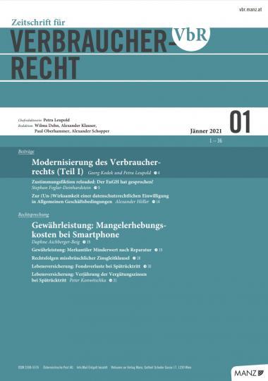 VbR Heft 1-2021 cover