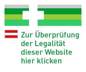 Offizielles EU weites Logo der in Österreich zugelassenen Versandapotheken