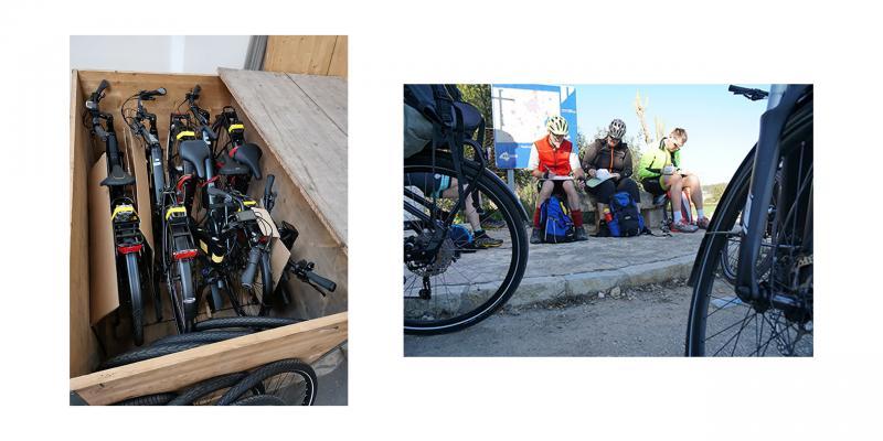So testen wir Elektro-Fahrräder